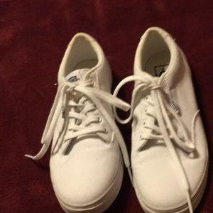 Canvas Vans shoes